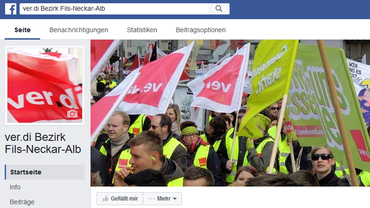 Unser Bezirk auf Facebook