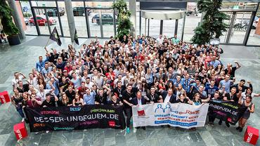 RWE Jugend mit voller Solidarität