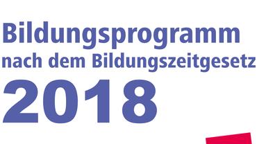 Bildungsprogramm 2018 des Bezirk Fils-Neckar-Alb