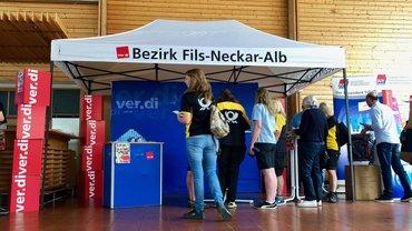 Erfolgreicher Infostand auf Betriebsversammlung Deutsche Post AG