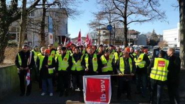WBO-Streiktag im Bezirk Fils-Neckar-Alb mit insgesamt über 400 Streikende!