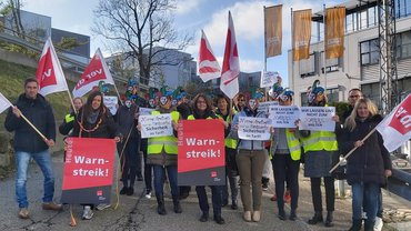 DAK-Gesundheit: Beschäftigte am Montag im Streik