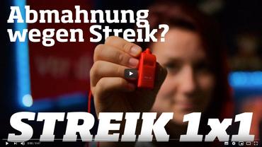 Abmahnung wegen Streik?