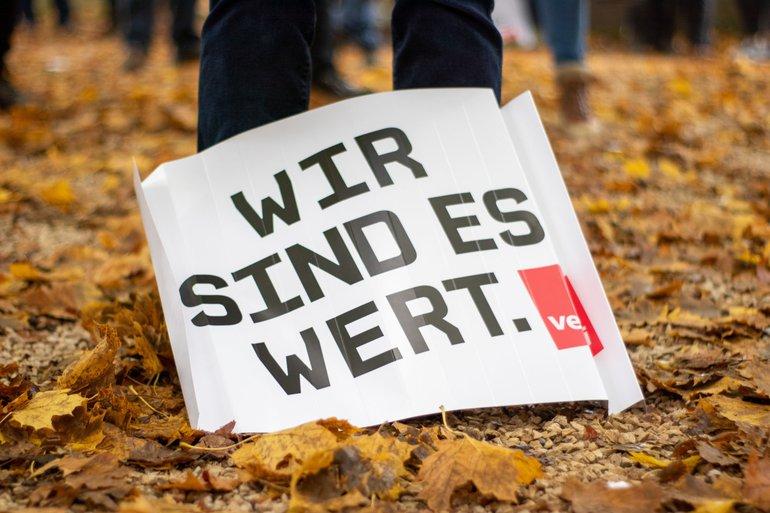 Warnstreiks im öffentlichen Dienst am 14.10.2020 in Tübingen