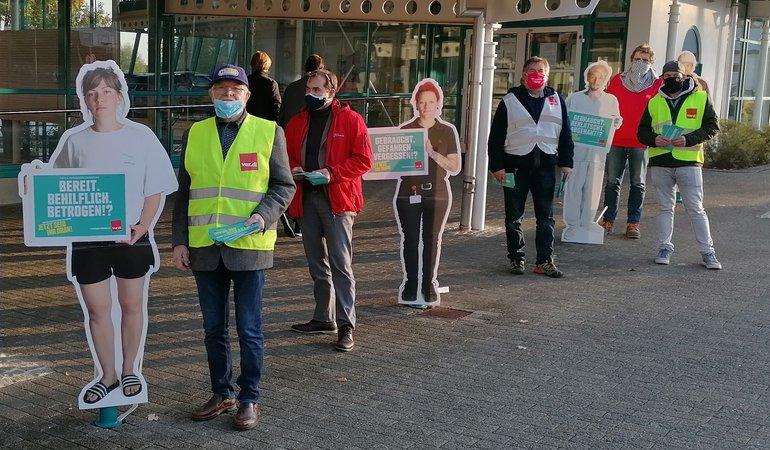 Tarifrunde ÖD 2020: Vierter Aktionstag im Zollernalbkreis