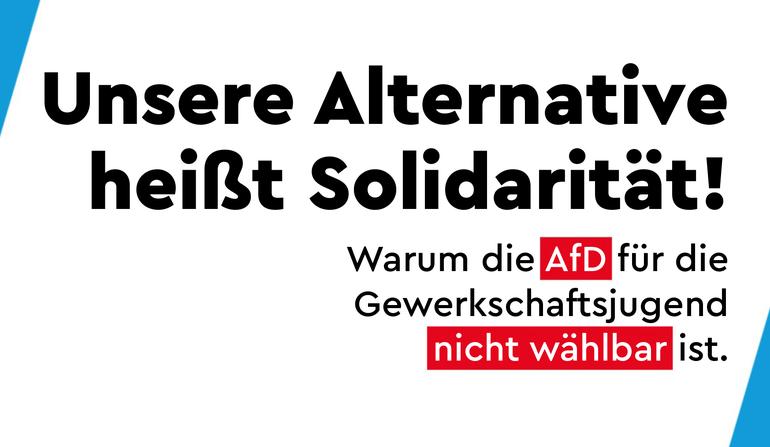 Unsere Alternative heißt Solidarität!